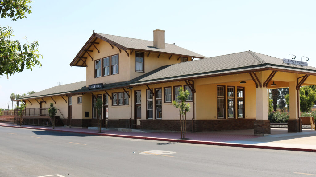 Kingsburg Train Depot Rehabilitation