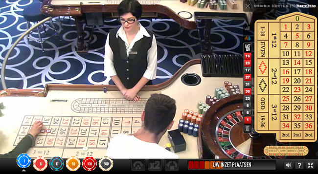 real casino roulette