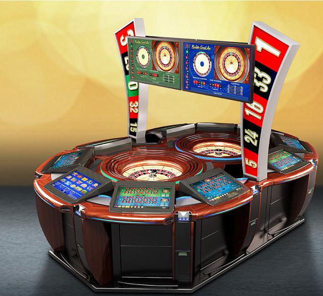 Grand Jeu Double roulette table