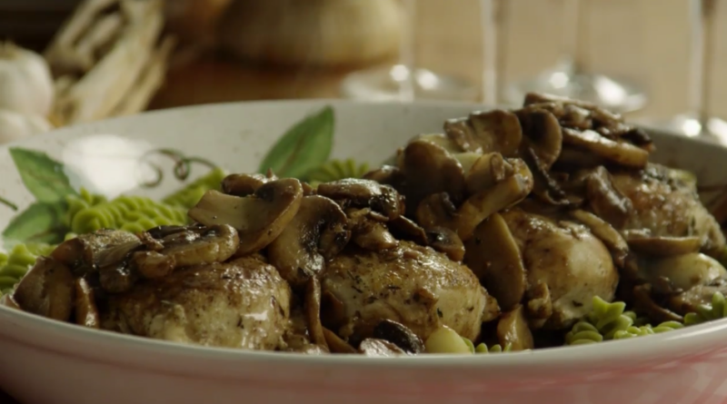 chicken balsamic and garlic