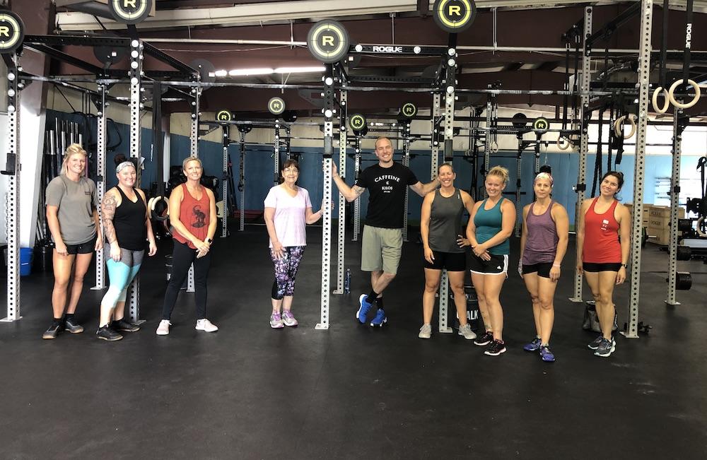 Fern Creek CrossFit members