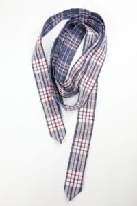 Plaid Wrap-Around