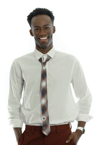 Winter Plaid Classic Tie