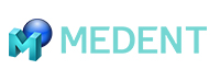 MEDENT EMR Software logo.