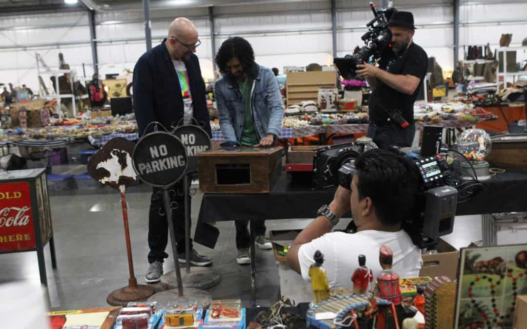 "Chicagoland Antique Flea Market hosts DISCOVERY CHANNEL – International ""Vintage Tech Hunters""-TV Series"