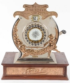 antique cash register club show