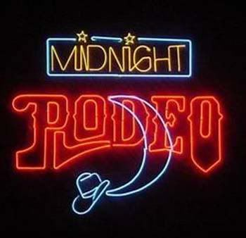 Midnight Rodeo Neon Sign