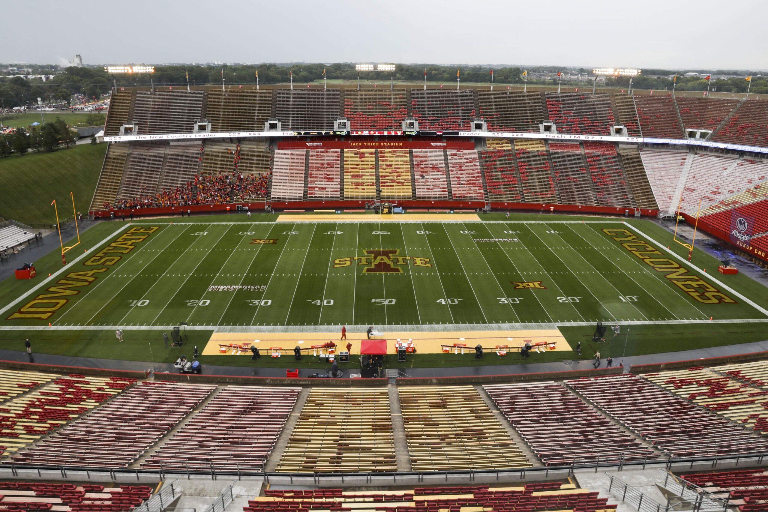 ISU empty stadium