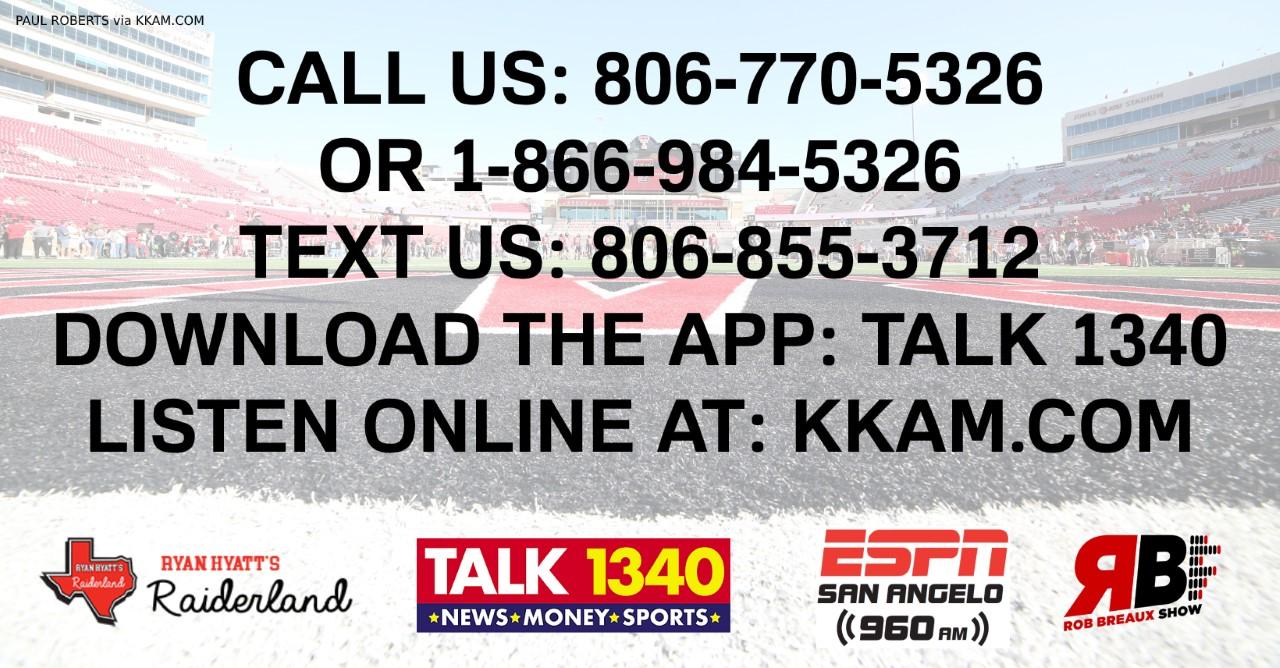 Talk 1340 ESPN960 Contact