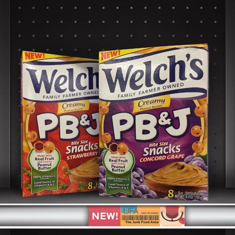 Welch's PB&J Bite Size Snacks