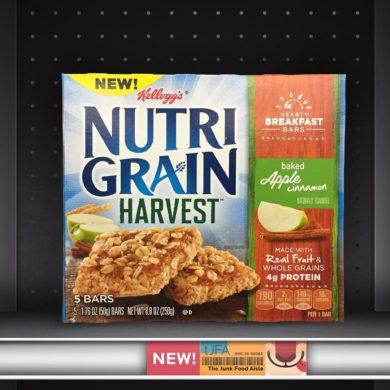 Apple Cinnamon Nutri-Grain Harvest Bars