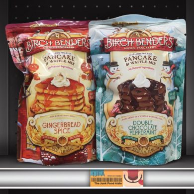 Birch Benders Gingerbread Spice and Double Chocolate Peppermint Pancake Mix