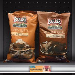 Boulder Canyon Pumpkin Pie and Turkey & Gravy Kettle Chips