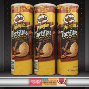 Cinnamon Sugar Pringles Tortillas