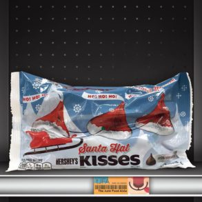 Hershey's Santa Hat Kisses