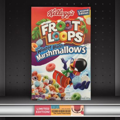 Kellogg's Froot Loops with Winter Blast Marshmallows