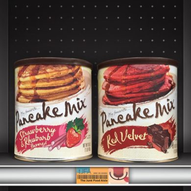 My Favorite Pancake Mix Strawberry & Rhubarb and Red Velvet