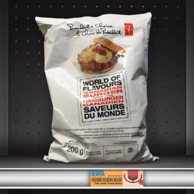 President's Choice World of Flavours Canadian Burger Potato Chips