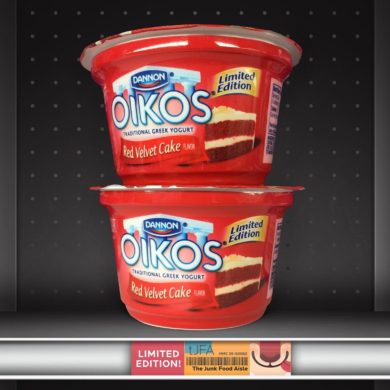 Dannon Oikos Red Velvet Cake Greek Yogurt