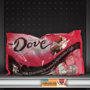 Dove Milk Chocolate Strawberry Shortcake Crisp