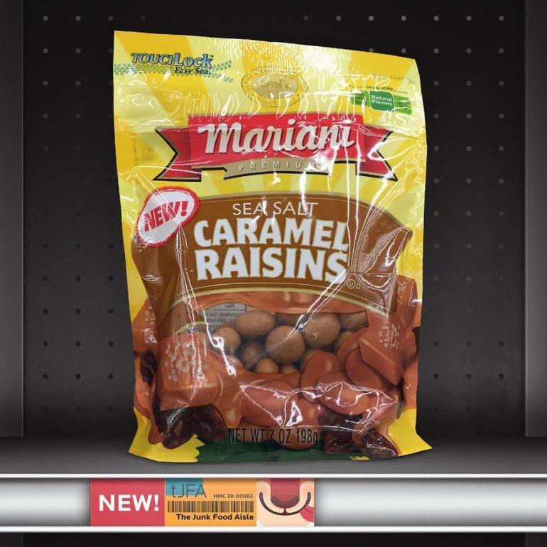 Mariani Sea Salt Caramel Raisins