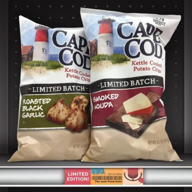 Cape Cod Roasted Black Garlic and Smoked Gouda Kettle Chips