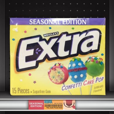 Wrigley's Extra Confetti Cake Pop Gum