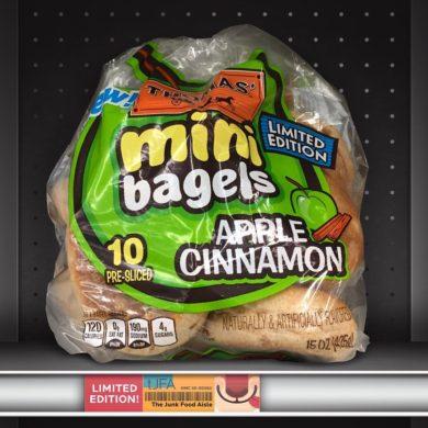 Apple Cinnamon Thomas' Mini Bagels