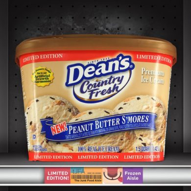 Dean's Country Fresh Peanut Butter S'mores Ice Cream