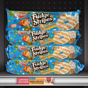 Keebler Birthday Cake Fudge Stripes Cookies