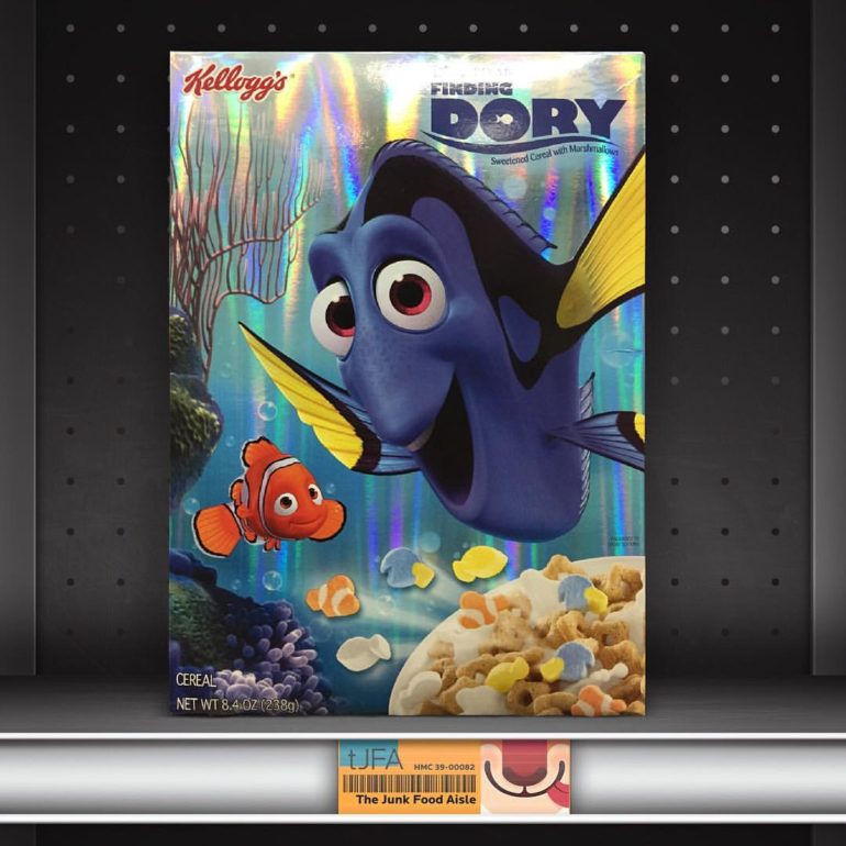 Kellogg's Finding Dory Cereal with Marshmallows