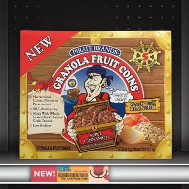 Pirate Brands Apple Cinnamon Granola Fruit Coins