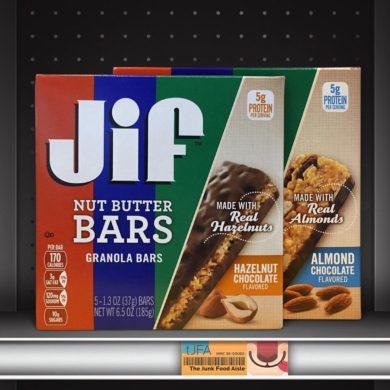 Jif Hazelnut and Almond Chocolate Nut Butter Granola Bars