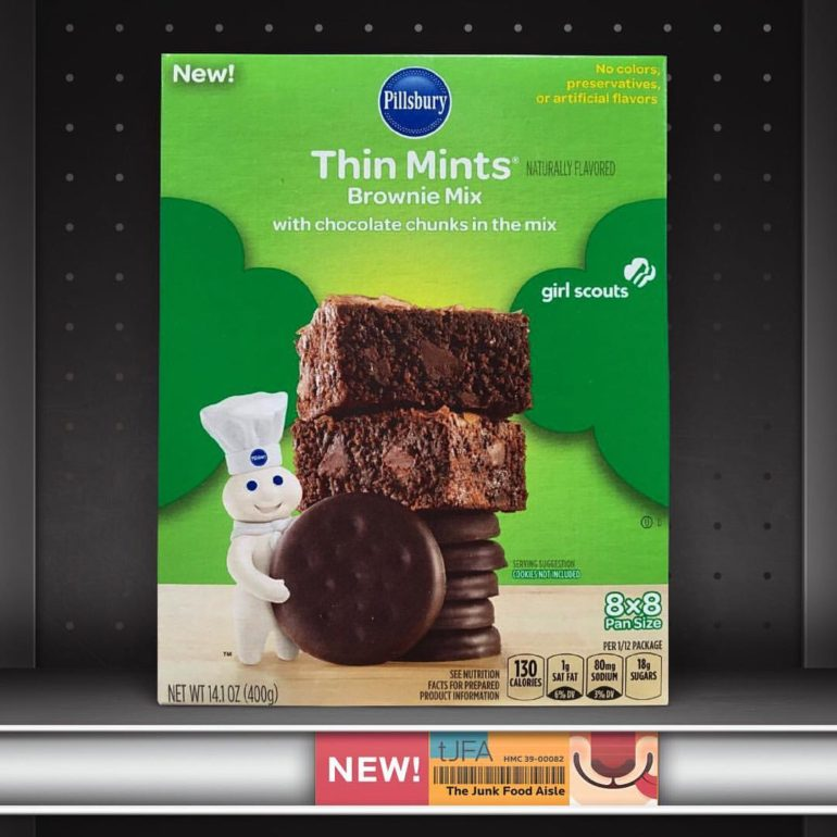 Pillsbury Thin Mints Brownie Mix