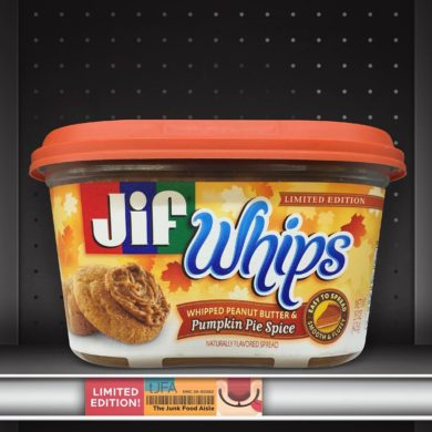 Jif Whips: Whipped Peanut Butter & Pumpkin Pie Spice