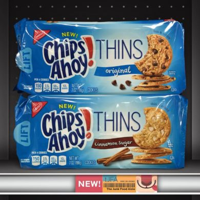 Original and Cinnamon Sugar Chips Ahoy! Thins