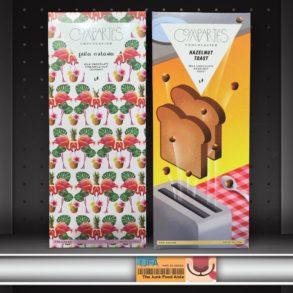 Compartés Piña Colada and Hazelnut Toast Chocolate Bars