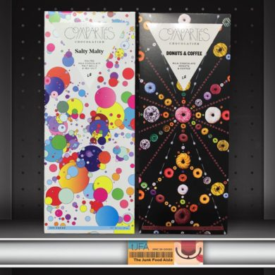 Compartés Salty Malty and Donuts & Coffee Chocolate Bars