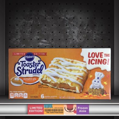Pumpkin Pie Toaster Strudels