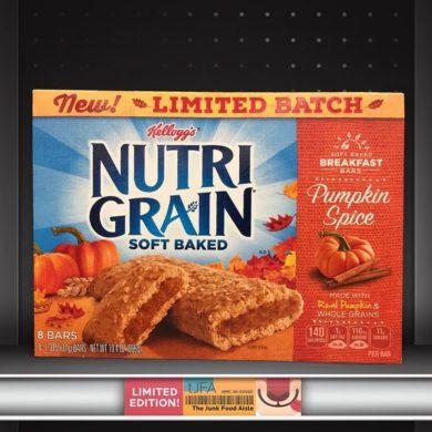 Pumpkin Spice Nutri-Grain Bars