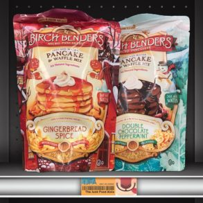 Birch Benders Gingerbread Spice & Double Chocolate Peppermint Pancake & Waffle Mix