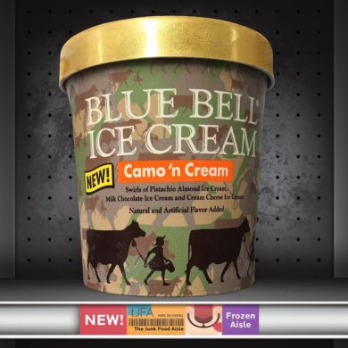 Blue Bell Ice Cream Camo 'n Cream