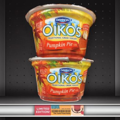 Dannon Oikos Pumpkin Pie Greek Yogurt