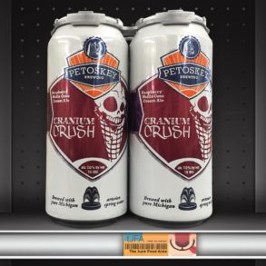 Petosky Brewing Cranium Crush: Raspberry Waffle Cone Cream Ale