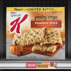 Special K Pumpkin Spice Pastry Crisps
