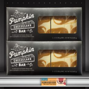Starbucks Pumpkin Cheesecake Bar