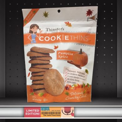Thinster's Pumpkin Spice Cookie Thins