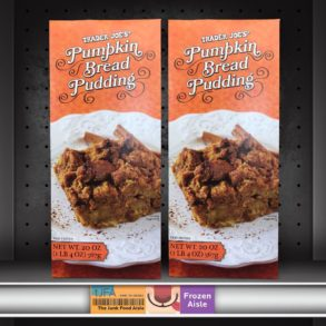 Trader Joe's Pumpkin Bread Pudding