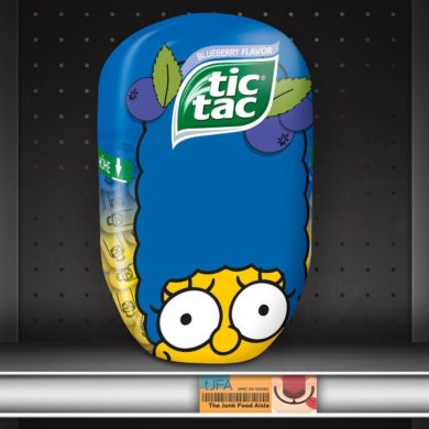 Blueberry Flavor Simpsons Tic Tacs