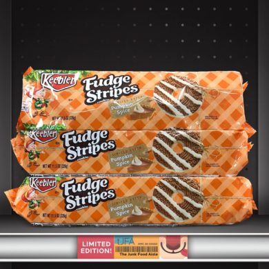 Keebler Pumpkin Spice Fudge Stripes Cookies